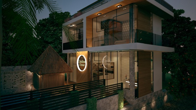 Gambar 3D House of Cendani